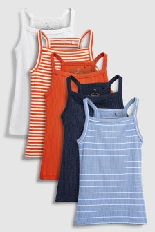 Vests Five Pack (3-16yrs)