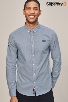 Superdry Long Sleeve Oxford Shirt