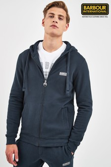 Barbour® International Navy Essential Hoody
