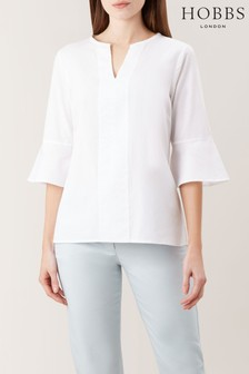 Hobbs White Vida Top