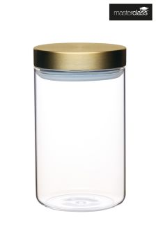 MasterClass Medium Glass Jar