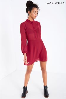 Jack Wills Berry Barnham Shirt Dress