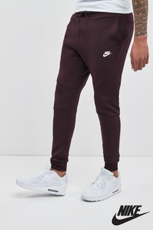 Nike Burgundy Technical Jogger