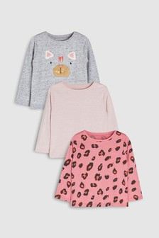 Animal T-Shirts Three Pack (3mths-6yrs)