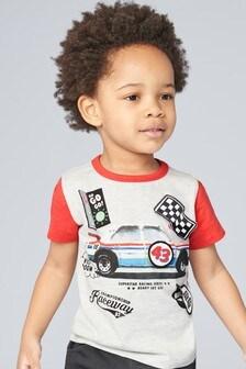 T-shirt avec motif (3 mois - 7 ans)