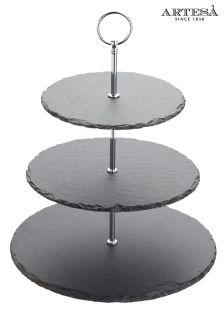 Artesa Slate 3 Tier Serving Stand