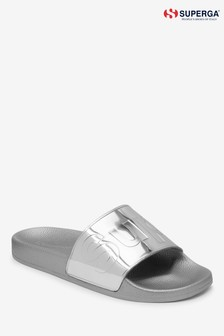 Superga® Silver Slider