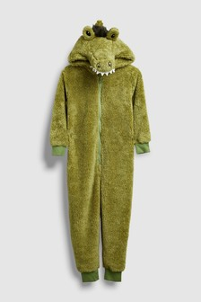 Crocodile Fleece All-In-One (3-16yrs)