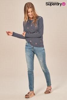 Superdry Cassie Light Wash Skinny Jean