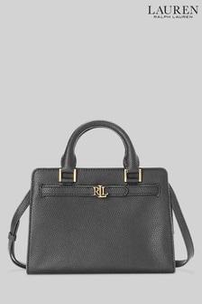 Lauren Ralph Lauren Black Fenwick Crossbody Bag