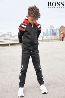 BOSS Black/Red Tracksuit