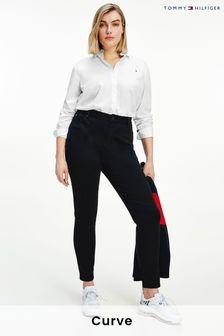 Tommy Hilfiger Black Curve Harlem High Waisted Skinny Denim Jeans