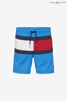 Tommy Hilfiger - Flag zwemshort met trekkoord voor jongens
