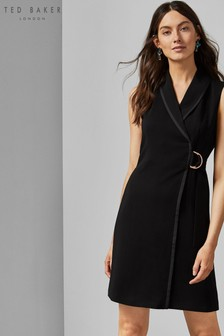 Ted Baker Black Wrap Dress