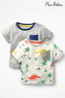 Boden Multi Colourful T-Shirts Two Pack