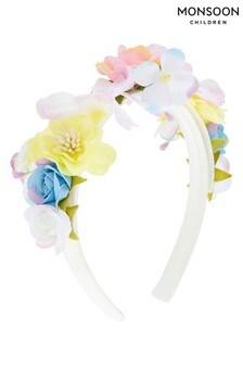 Monsoon Animal Spring Bouquet Aliceband