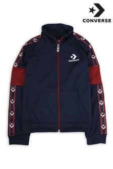 Converse Boys Star Chevron Colourblock Track Jacket