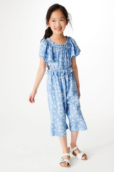 Daisy Frill Cut Out Jumpsuit (3-16yrs)