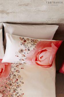 Set of 2 Ted Baker Blenheim Jewel Pillowcases