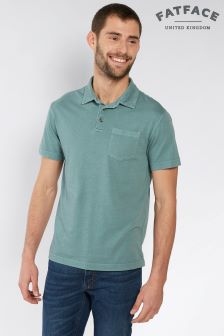 FatFace Peppermint York Organic Lightweight Polo