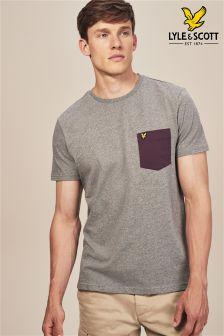 T-shirt Lyle & Scott avec poche