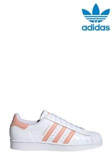 adidas Originals White Superstar Trainers