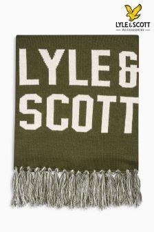 Lyle & Scott Logo Scarf