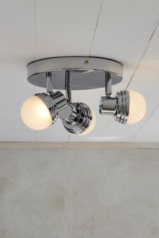 Seine 3 Light Flush Fitting