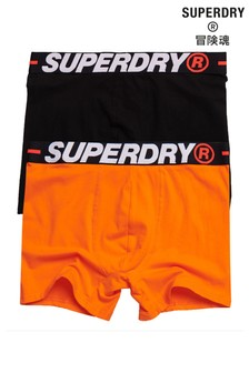 Superdry Organic Cotton Boxers Double Pack