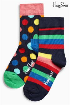Rainbow Socks Two Pack (Older)