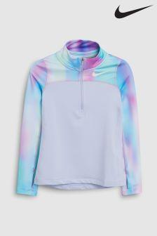 Nike Purple Unicorn Long Sleeve Top