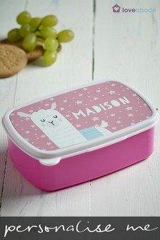 Personalised Llama Sandwich Box by Loveabode