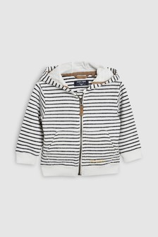 Stripe Zip Through Hoody (3mths-6yrs)