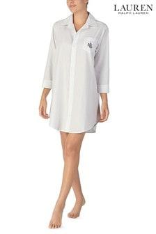 Lauren Ralph Lauren® White Sleepshirt