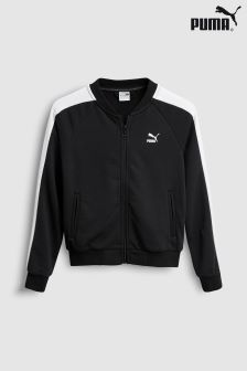 Puma® Black Track Top