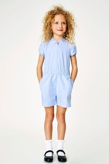 Gingham Playsuit (3-14yrs)