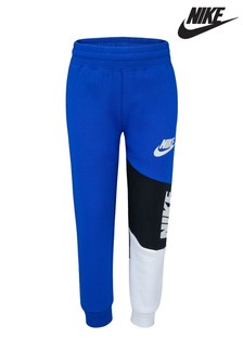 Nike Little Kids Blue Logo Joggers