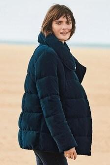 Velvet Duvet Jacket
