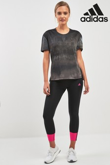 adidas Black/Pink Response Tight