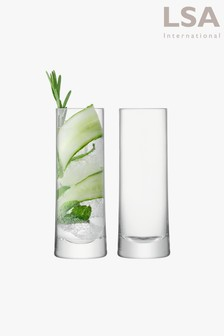 LSA International Gin Highball-Gläser, 2er-Set