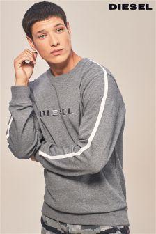 Diesel® Grey Logo Sweater