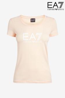 EA7 Pink Logo T-Shirt