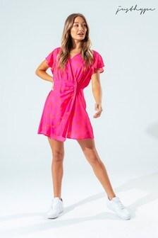 Hype. Womens Pink Heart Dress