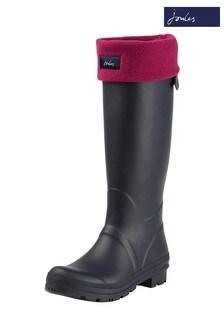 Chaussettes Joules Welton violettes pour botte en caoutchouc