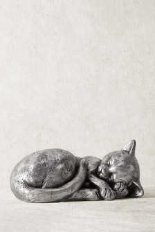 Sleeping Cat Sculpture