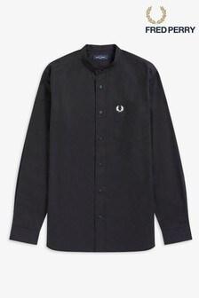 Fred Perry Grandad Collar Shirt