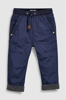 Jersey Lined Border Trousers (3mths-6yrs)