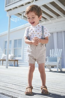 Grandad Shirt & Short Set (3mths-7yrs)