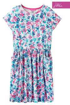 Joules Garden Ditsy Jersey Dress