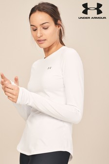 Under Armour White Cold Gear Base Layer Crew
